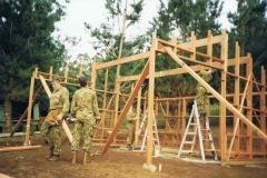 1996-AFX-Bibbulmun-track-hut-build-1