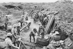1919-1st-Aust-Tunnelling-Coy-excavating-dugouts-at-Hooge-Crater-Ypres-1917