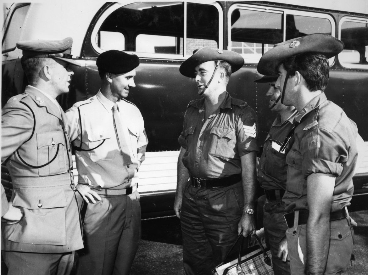 1966-2Lt-Perry-Sgt-D-Smith-welcome-Sgt-RoweSpr-Simpson.jpg